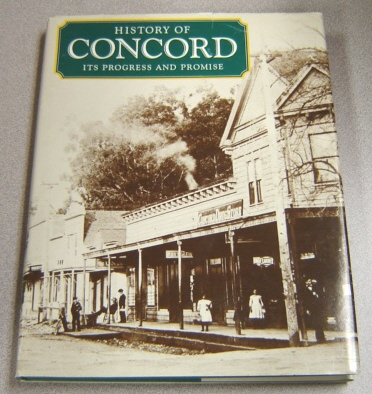 Image for History Of Concord: Its Progress And Promise