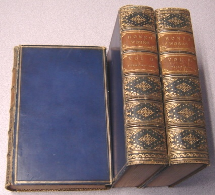 Image for Hone's Works, 3 Volumes: Every-Day Book or the Guide to the Year, Vols. I & II; Every-Day Book & Table Book, Vol. III