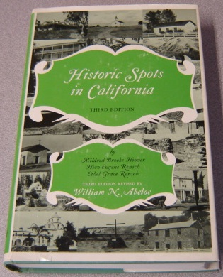 Image for Historic Spots In California, Third Edition