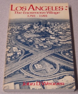 Image for Los Angeles: The Enormous Village, 1781-1981