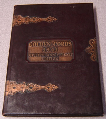 Image for Golden Cords 1941, 50th Anniversary Edition, Union College Yearbook, Lincoln, Nebraska