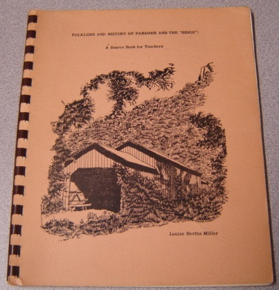 "Image for Folklore and History of Paradise and ""The Ridge"": A Source Book for Teachers"