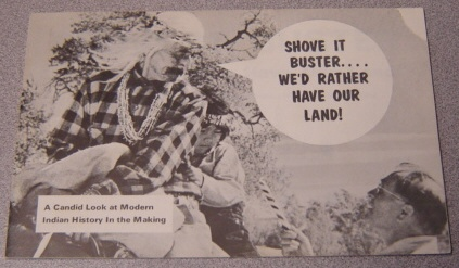Image for Shove It Buster ... We'd Rather Have Our Land! A Candid Look At Modern Indian History in the Making