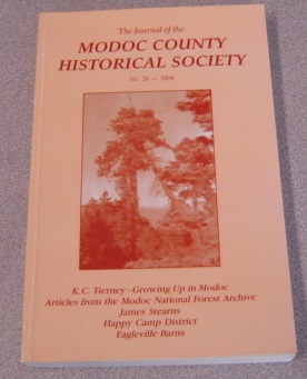 Image for The Journal Of The Modoc County Historical Society, No. 26, 2004