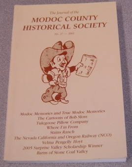 Image for The Journal Of The Modoc County Historical Society, No. 27, 2005