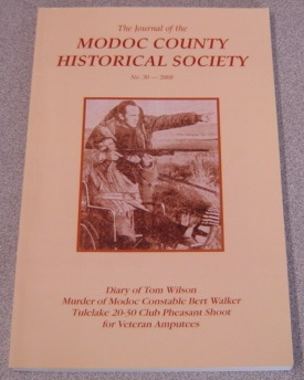 Image for The Journal Of The Modoc County Historical Society, No. 30, 2008