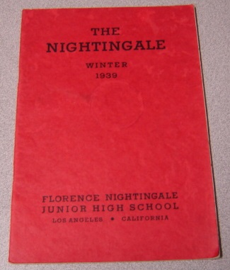 Image for The Nightingale, Winter (February) 1939, Florence Nightingale Junior High School Yearbook, Los Angeles, California