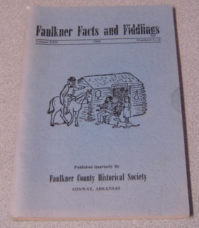 Image for Faulkner Facts & Fiddlings, Volume XXII #1-4, 1980