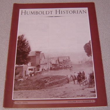 Image for The Humboldt Historian, Volume 54 No. 3, Fall 2006