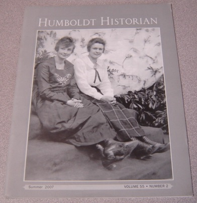 Image for The Humboldt Historian, Volume 55 No. 2, Summer 2007