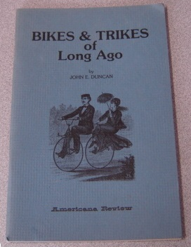Image for Bikes & Trikes of Long Ago (Long Ago Books Series)