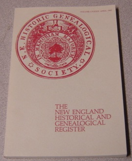 Image for The New England Historical and Genealogical Register, April 1985, Volume CXXXIX