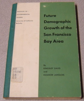 Image for Future Demographic Growth Of The San Francisco Bay Area