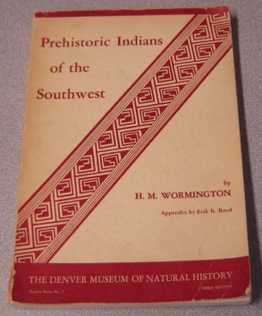 Image for Prehistoric Indians Of The Southwest: Popular Series No. 7, Third Edition