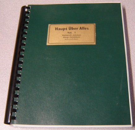 Image for Haupt Uber Alles, Volume 1