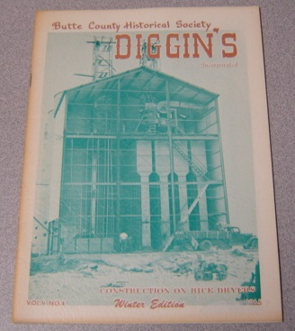 Image for Butte County Historical Society Diggin's, Volume 9, Number 4, Winter Edition 1965
