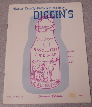 Image for Butte County Historical Society Diggin's, Volume 9, Number 2, Summer Edition 1965