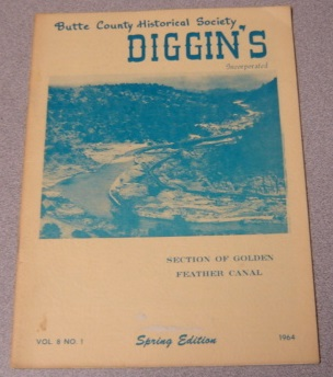 Image for Butte County Historical Society Diggin's, Volume 8, Number 1, Spring Edition 1964