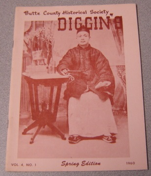 Image for Butte County Historical Society Diggin's, Volume 4 Number 1, Spring Edition 1960