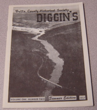 Image for Butte County Historical Society Diggin's, Volume 1 Number 2, Summer Edition 1957