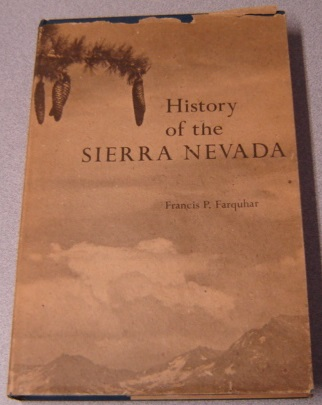 Image for History Of The Sierra Nevada