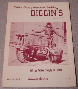 Image for Butte County Historical Society Diggin's, Vol. 23, No. 2, 1979, Summer Edition