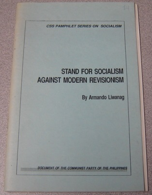 Image for Stand for Socialism Against Modern Revisionism (CSS Pamphlet Series on Socialism)