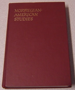 Image for Norwegian-American Studies, Volume 21
