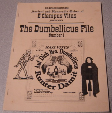 Image for Ancient and Honorable Order of E Clampus Vitus Presents The Dumbellicus File, Number 1