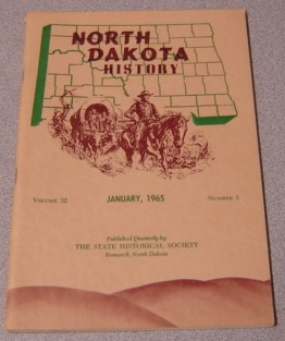 Image for North Dakota History, Vol 32, No. 1; January 1965