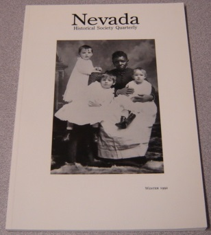 Image for Nevada Historical Society Quarterly, Volume 35 Number 4, Winter 1992