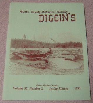 Image for Butte County Historical Society Diggin's, Volume 35, Number 2, Spring 1991