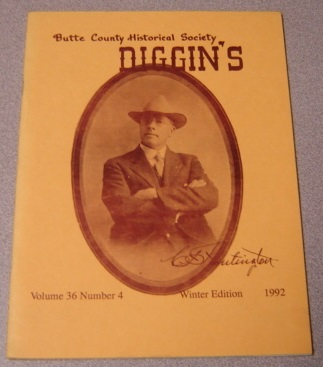 Image for Butte County Historical Society Diggin's, Volume 36, Number 4, Winter 1992