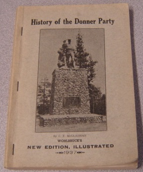 Image for History of the Donner Party: A Tragedy of the Sierra