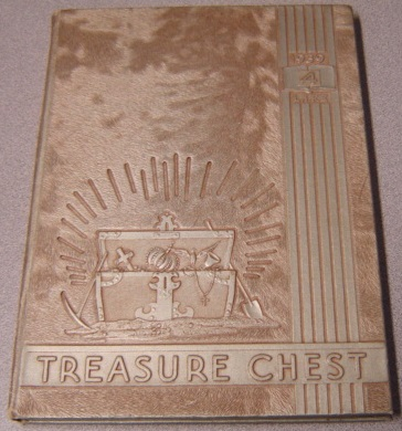 Image for 1939 Treasure Chest Yearbook, L. I. F. E. Bible College At Angelus Temple