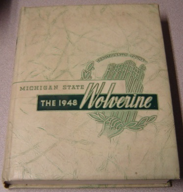 Image for The 1948 Wolverine Yearbook (Michigan State College - University)