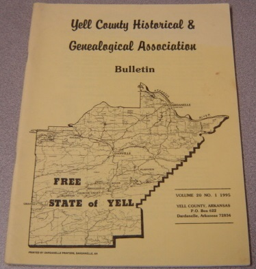 Image for Yell County Historical & Genealogical Association Bulletin, Volume 20 Number 1, 1995