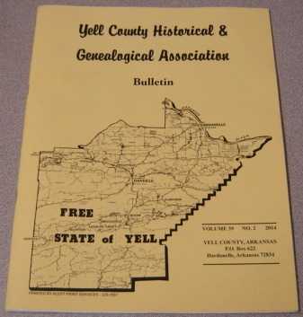Image for Yell County Historical & Genealogical Association Bulletin, Volume 39 Number 2, 2014