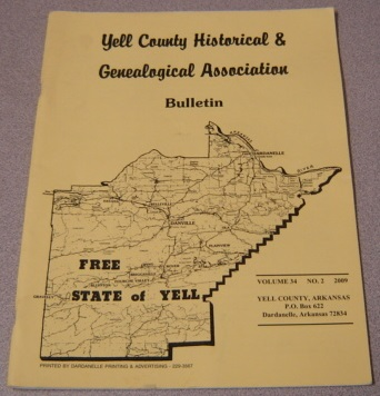 Image for Yell County Historical & Genealogical Association Bulletin, Volume 34 Number 2, 2009