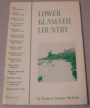 Image for Lower Klamath Country; SIGNED