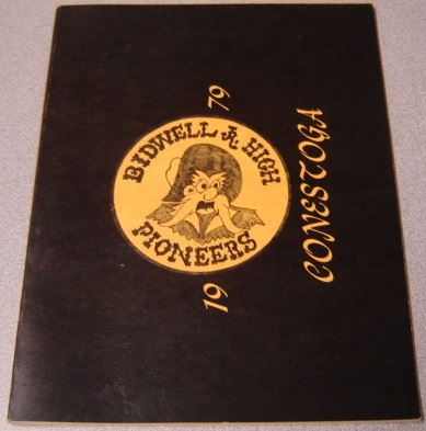 Image for 1979 Conestoga, Bidwell Jr. High School Pioneers, Chico, California Yearbook