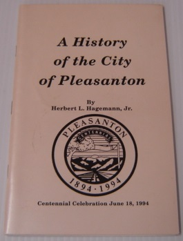 Image for A History Of The City Of Pleasanton; Signed