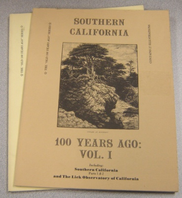 Image for Southern California 100 Years Ago, Vol. 1 and Vol. 2 (Old/100 Years Ago Series)