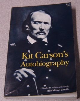Image for Kit Carson's Autobiography