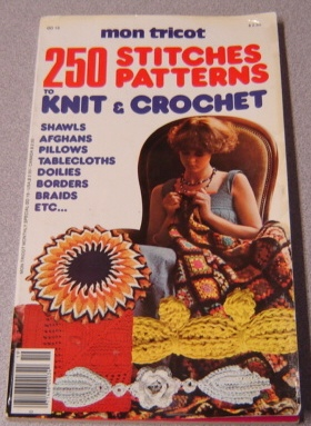 Image for Mon Tricot 250 Stitches/Patterns to Knit & Crochet (#0D19)