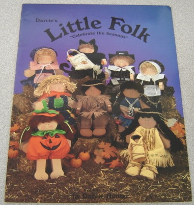 "Image for Darcie's Little Folk:  ""Celebrate the Seasons"" Volume 1 ~ Fall"