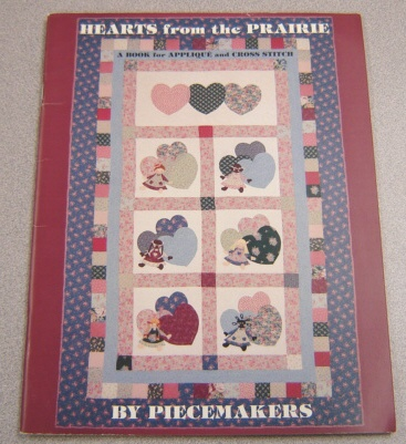 Image for Hearts from the Prairie: A Book for Applique and Cross Stitch