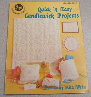 Image for Quick 'n Easy Candlewick Projects (Boye Needlework Library #7396)