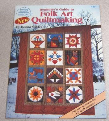 Image for Beginner's Guide To Folk Art Quiltmaking