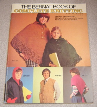 Image for The Bernat Book Of Complete Knitting (book #221)